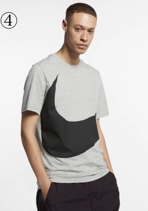 Nike Crew Neck Crew Neck Unisex Street Style Plain Cotton Short Sleeves 8