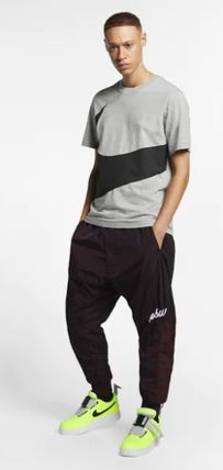 Nike Crew Neck Crew Neck Unisex Street Style Plain Cotton Short Sleeves 9