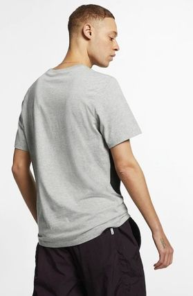 Nike Crew Neck Crew Neck Unisex Street Style Plain Cotton Short Sleeves 11