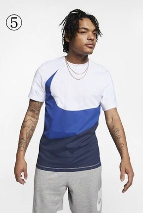 Nike Crew Neck Crew Neck Unisex Street Style Plain Cotton Short Sleeves 12