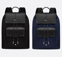 DIOR HOMME Leather Backpacks