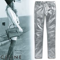 CELINE Denim Plain Skinny Fit Jeans & Denim
