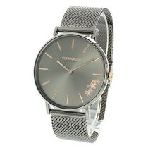Coach Round Quartz Watches Stainless Elegant Style Analog Watches