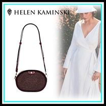 HELEN KAMINSKI Casual Style Blended Fabrics Leather Home Party Ideas