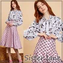 Sister Jane Long Sleeves Other Animal Patterns Elegant Style