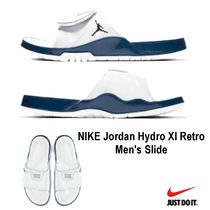 Nike AIR JORDAN Street Style Shower Shoes Oversized Shower Sandals