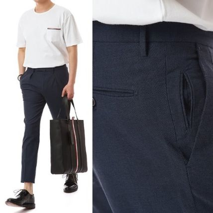 Tapered Pants Cotton Tapered Pants