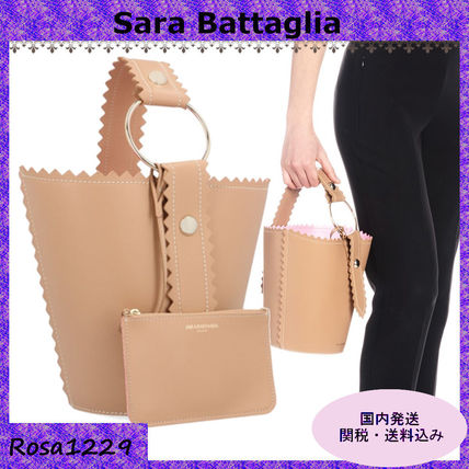 Casual Style Leather Bags