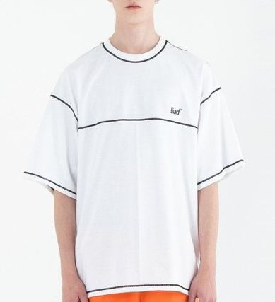 Crew Neck Street Style Short Sleeves Oversized