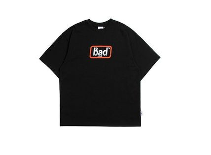 BADINBAD Crew Neck Crew Neck Street Style Cotton Short Sleeves Oversized 9