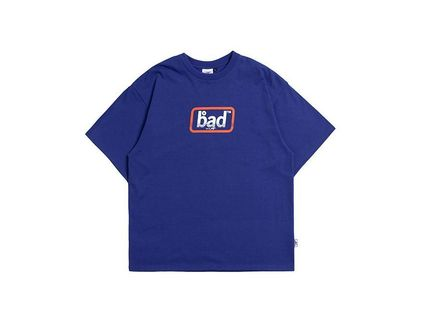 BADINBAD Crew Neck Crew Neck Street Style Cotton Short Sleeves Oversized 13