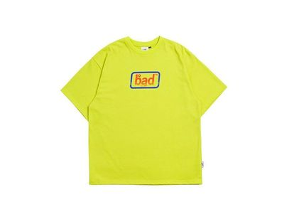 BADINBAD Crew Neck Crew Neck Street Style Cotton Short Sleeves Oversized 16
