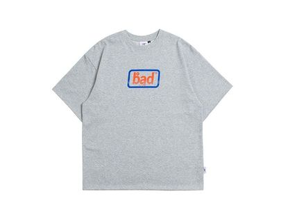BADINBAD Crew Neck Crew Neck Street Style Cotton Short Sleeves Oversized 18
