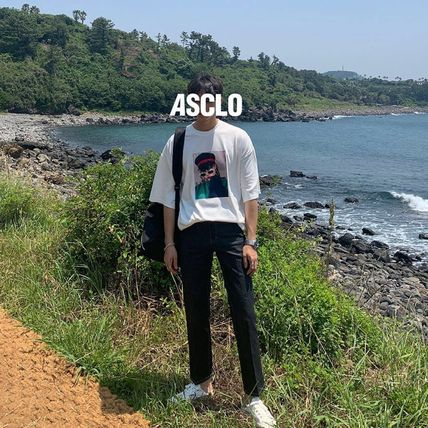 ASCLO More T-Shirts Street Style Oversized T-Shirts 4