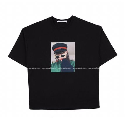 ASCLO More T-Shirts Street Style Oversized T-Shirts 12