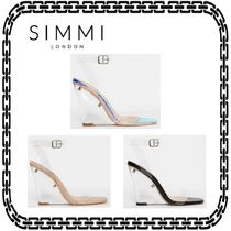 SIMMI Open Toe Casual Style Street Style Platform & Wedge Sandals