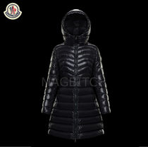 MONCLER MOKA Street Style Plain Medium Down Jackets