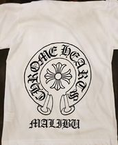 CHROME HEARTS Unisex Street Style T-Shirts