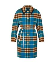 Louis Vuitton Other Check Patterns Wool Long Coats