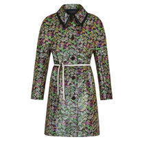 Louis Vuitton Flower Patterns Wool Coats