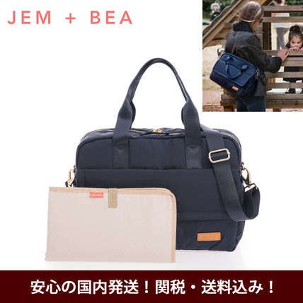 Casual Style Unisex 2WAY Plain Bags