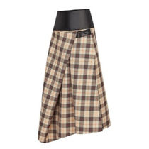 Louis Vuitton Pencil Skirts Wool Medium Midi Skirts