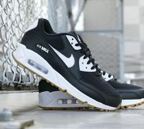 Nike AIR MAX 90 Blended Fabrics Street Style Low-Top Sneakers
