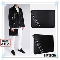 GIVENCHY Unisex 2WAY Plain Clutches