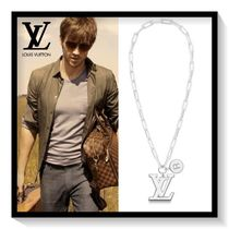 Louis Vuitton Unisex Chain Ceramic Necklaces & Chokers