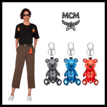 MCM Unisex Street Style Keychains & Bag Charms