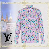 Louis Vuitton Long Sleeves Cotton Shirts & Blouses