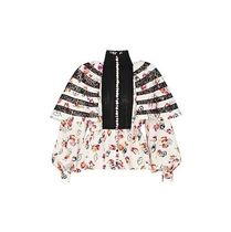 Louis Vuitton Flower Patterns Long Sleeves Tops