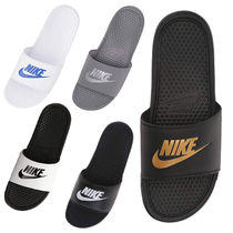 Nike BENASSI Unisex Street Style Plain Shower Shoes Shower Sandals