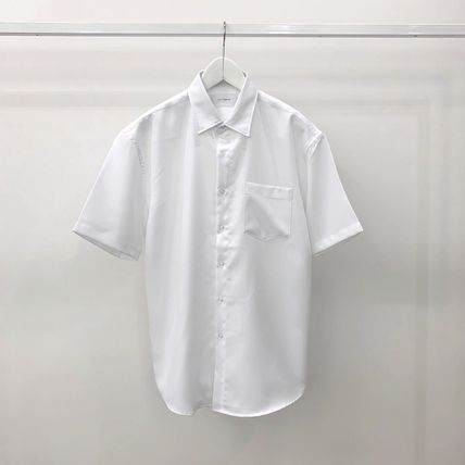 Shirts Plain Short Sleeves Shirts 11