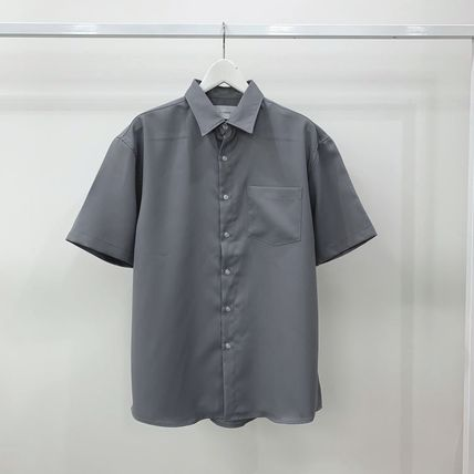 Shirts Plain Short Sleeves Shirts 12
