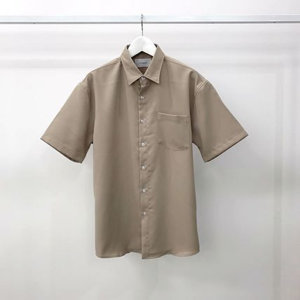 Shirts Plain Short Sleeves Shirts 16