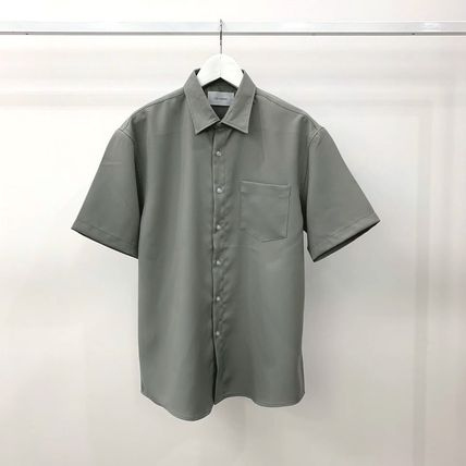 Shirts Plain Short Sleeves Shirts 17