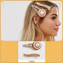 ASOS Barettes Blended Fabrics Studded Party Style Clips