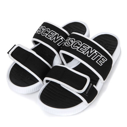 Unisex Street Style Sport Sandals Logo Sports Sandals