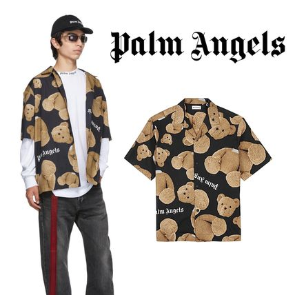 Palm Angels Shirts Street Style Cotton Shirts