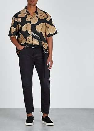Palm Angels Shirts Street Style Cotton Shirts 3