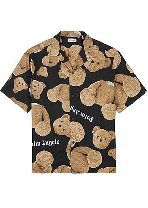 Palm Angels Shirts Street Style Cotton Shirts 4
