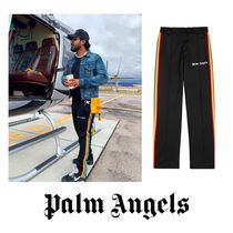 Palm Angels Stripes Street Style Bottoms