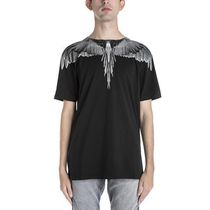 Marcelo Burlon Crew Neck Unisex Street Style Cotton Short Sleeves