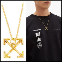 Off-White Unisex Necklaces & Chokers