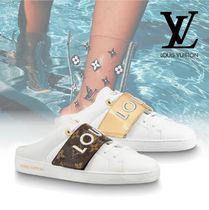 Louis Vuitton Casual Style Blended Fabrics Street Style Low-Top Sneakers