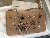 Jimmy Choo Unisex Leather Coin Cases