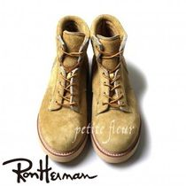 Ron Herman Mountain Boots Suede Plain Outdoor Boots