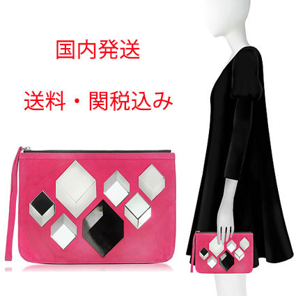 Suede Pouches & Cosmetic Bags