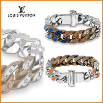 Louis Vuitton Blended Fabrics Street Style With Jewels Bracelets